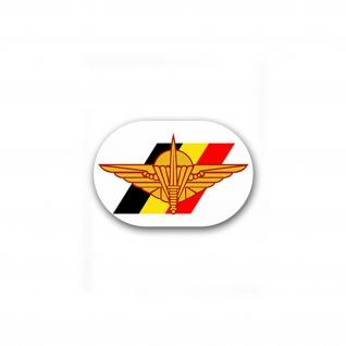 Aufkleber/Sticker Belgische Fallschirmjäger Brigade Belgian Para 11x7cm A1808