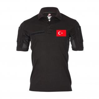 Tactical Polo Türkei Soldat Schädel Barett Abzeichen Türkiye Einheit #31394