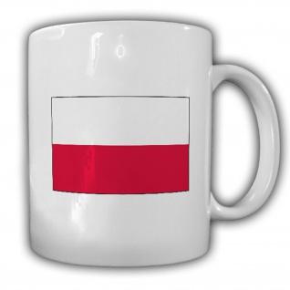Republik Polen Fahne Flagge Kaffee Becher Tasse #13863