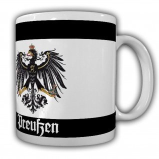 Preußen Fahne Preußisch Adler Deutschland Friedrich der Große Tasse #20082