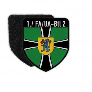 1 FA-UABtl 2 Wappen Abzeichen Feldwebelanwärter Kompanie Celle Patch #31352