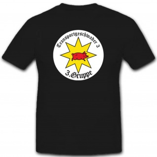 Luftwaffe Wk Transportgeschwader Abzeichen Emblem 3 Gruppe Tg3 - T Shirt #3228