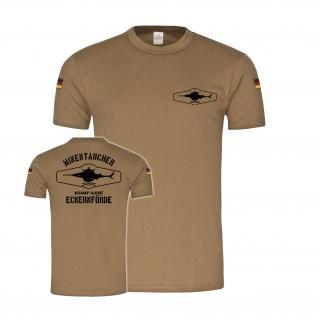 Bw Tropen Minentaucherkompanie Eckernförde Marine Bundeswehr T-Shirt #34558