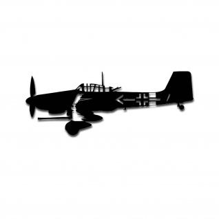 Stuka Aukleber-Luftwaffe Deutschland G2 Sturzkampfbomber Militär 20x8cm A4980