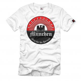 München Landeshauptstadt Freistaat Bayern Abzeichen Emblem T Shirt #217