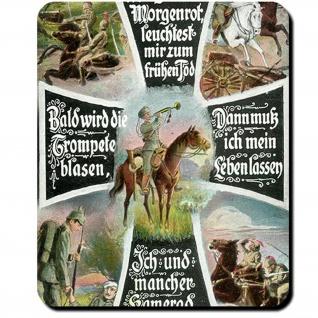 Morgenrot Max Schneckenburger die Wacht am Rhein 1871 Kaiserreich Mauspad #16189