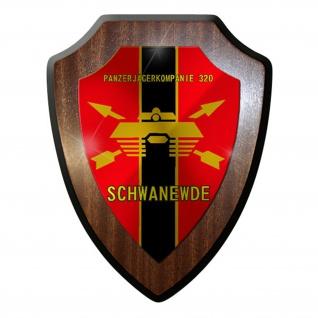 Wappenschild / Wandschild / Wappen - Panzerjägerkompanie 320 Schwanewede #8340