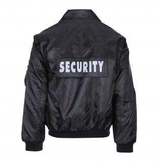 Security Jacke Sicherheitsdienst Türsteher Wachdienst Objektschutz Hundeführer Schnittfest #35722