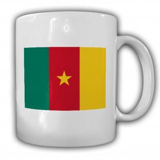 Republik Kamerun Flagge Fahne Kaffee Tasse #13531