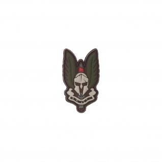 Spartan Patch Wappen Emblem Heer Alfashirt Aufnäher Airsoft 3x5 cm #26751