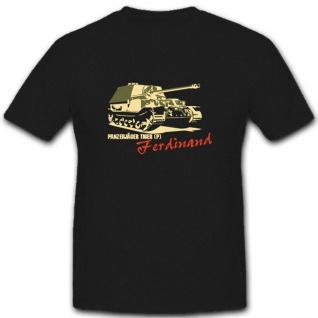 Panzerjäger Elefant Heer Armee Tiger P Bundeswehr WH Panzer T Shirt #2914
