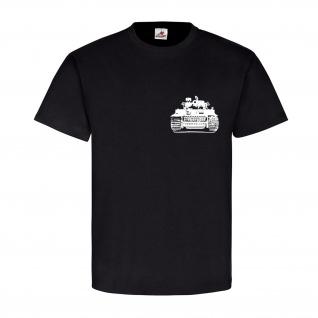 Tiger Panzer Balkenkreuz Panzerkampfwagen Deutschland k - T Shirt #14632