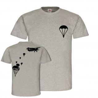 AN-2 Fallschirmspringer Rundkappe DDR NVA Doppeldecker Antonow T-Shirt #24236