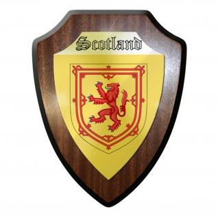 Wappenschild / Wandschild - Scotland #11898
