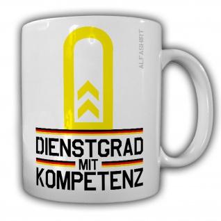 Tasse Oberbootsmann Dienstgrad Bundeswehr OBtsm Militär Kaffee Becher #20712