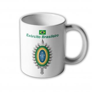 Exército Brasileiro Brasilien Armee Infanterie Wappen Tasse Becher Kaffee #33391