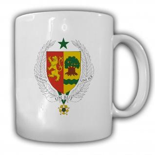 Republik Senegal Wappen Emblem Kaffee Becher Tasse #13891
