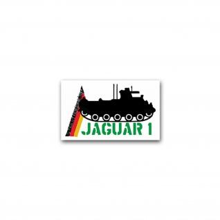 Aufkleber/Sticker Jaguar 1 Jagdpanzer Lenkflugkörper Panzerjäger 12x7cm #A2362