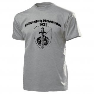 Selbstschutz Oberschlesien 1921 Wappen Abzeichen Deuschland T Shirt #14598