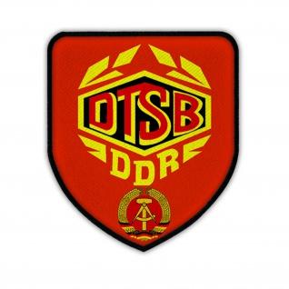 Patch / Aufnäher -DTSB Deutscher Sportbund DDR Deutsche Ostdeutschland #14276