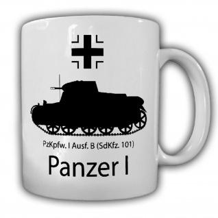 Panzer 1 Panzerkampfwagen I PzKpfw MG13 30er Jahre - Kaffee Becher Tasse #18720