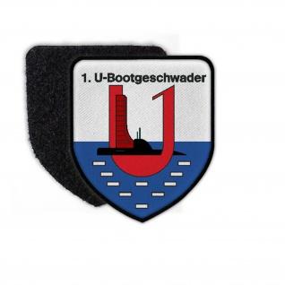 Patch 1 U Bootgeschwader Eckernförde TYP 2 U Boot Geschwader Abzeichen #25558