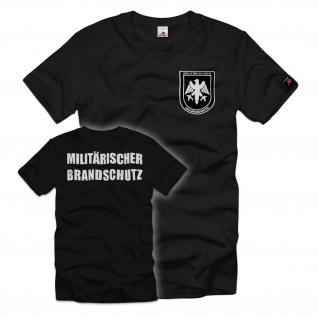 Militärischer Brandschutz MilBrdSch Bundeswehr Feuerwehr BW BwFw T Shirt #35249