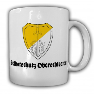 Selbstschutz Oberschlesien Spezialpolizei SP Freikorps - Tasse #19543