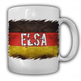 Tasse Elsa Becher Deutschland Fahne Flagge Kaffeebecher #22168
