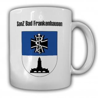 Sanitätszentrum Bad Frankenhausen SanZ BW Kaserne Wappen Abzeichen Tasse #15456