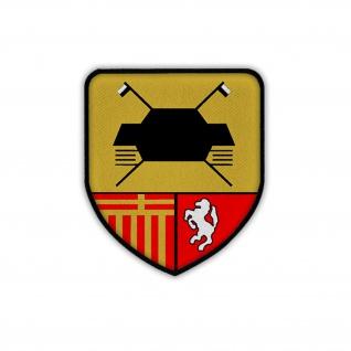 Patch /Aufnäher PzAufklBtl 7 Bundeswehr Panzeraufklärer Paderborn Wappen #19731