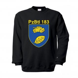 Pzbtl183 Panzerbataillon 183 Bundeswehr Heer Wappen Abzeichen Pullover #16438