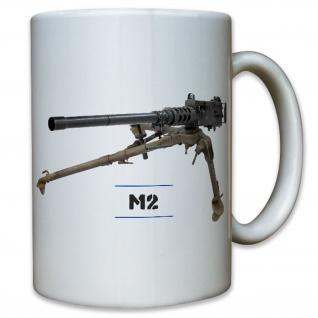 M2 Maschinengewehr Machine Gun USA Amerika WK 2 WW II - Tasse Kaffee #11784