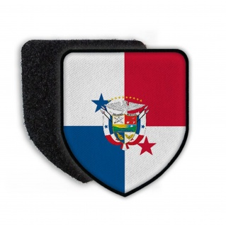 Patch Landespatch Panama Wappen Aufnäher Spanien Carlos Varela Balboa #21956