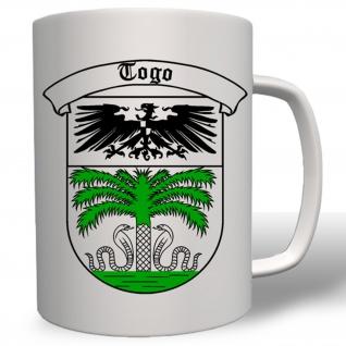 Deutsche Kolonie Togo Afrika Preußen WK 1 Wappen Emblem - Tasse #2954