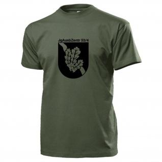 JgAusbZentr 53 4 Jägerausbildungszentrum Jäger Wappen Abzeichen T Shirt #15430