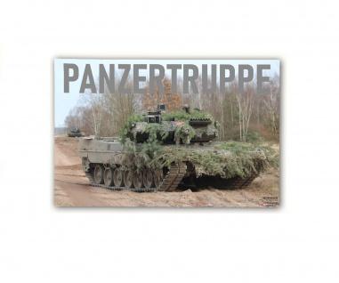 Poster M&N Panzertruppe Bundeswehr Plakt Werbung Leopard Leo2A7 ab30x20cm#30296