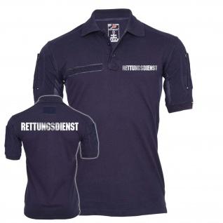 Tactical Poloshirt Rettungsdienst Erst-Helfer Sani Retter Feuerwehr #24866