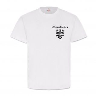 Oberschlesien Schlesien Heimat Adler Wappen Logo Deutschland - T Shirt #6670
