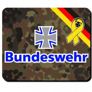 Bundeswehr Deutschland eisernes Kreuz BW Bund Emblem - Laptop PC #8036