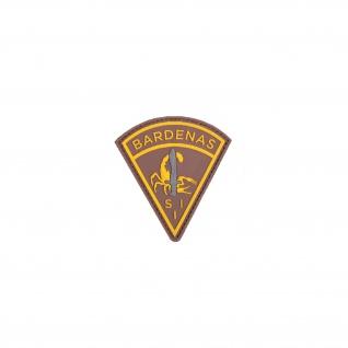 Bardenas Tarn Wüste Alfashirt Patch 3D PVC Aufnäher Abzeichen 7 x 8 cm#26728