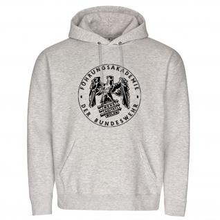 Führungsakademie Der Bundeswehr Wappen Abzeichen - Kapuzenpullover #15402