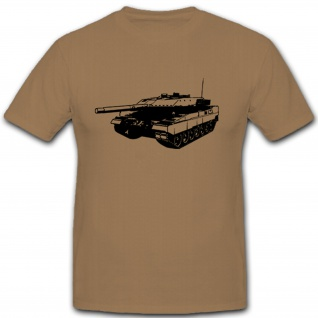 Leo 2A5 Kampfpanzer Panzer Leopard Bataillon Kompanie - T Shirt #5056