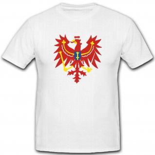 Alter Brandenburger Adler Wappen Emblem Abzeichen Symbol - T Shirt #3097