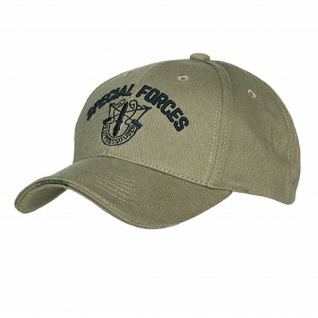 Special Forces Cap Green Berets Kappe Mütze United States Command Airborne #16022