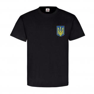 Ukrajina Wappen Emblem Abzeichen Freedom for Ukraine stop killing T Shirt #11331