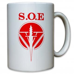 Special Operations Executive SOE Militär Einheit - Tasse Kaffee Becher #12495