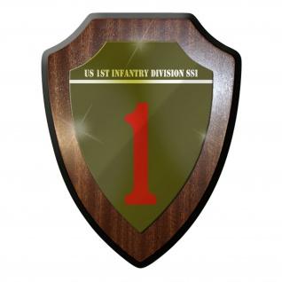 Wappenschild - US United States 1st Infantry Abzeichen Emblem #8817