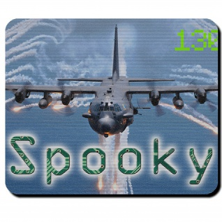 Spooky AC-130 US United States Air Force Luftwaffe Militär - Mauspad #12276