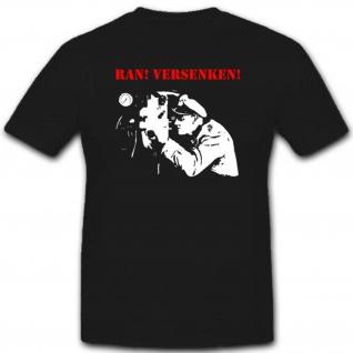 Unterseeboot Ran Versenken Deutschland U Boot Militär T Shirt #2713
